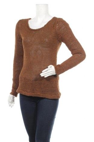 Γυναικείο πουλόβερ Hallhuber, Μέγεθος L, Χρώμα Καφέ, 75% βαμβάκι, 25% πολυαμίδη, Τιμή 26,53€