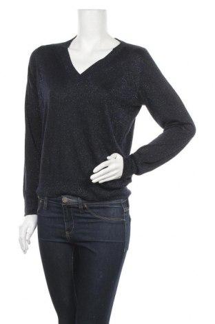 Γυναικείο πουλόβερ Holly & Whyte By Lindex, Μέγεθος M, Χρώμα Μπλέ, 64% μοντάλ, 16% μερινό, 20% μεταλλικά νήματα, Τιμή 22,21€