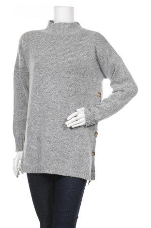 Дамски пуловер Jojo Maman Bebe, Размер S, Цвят Сив, 70% акрил, 30% полиестер, Цена 42,00лв.