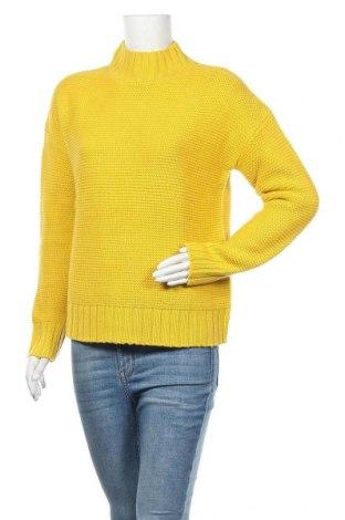 Дамски пуловер Reserved, Размер S, Цвят Жълт, Цена 19,50лв.