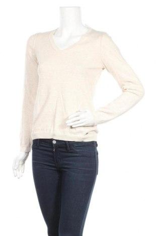 Дамски пуловер S.Oliver, Размер S, Цвят Бежов, Памук, Цена 18,75лв.