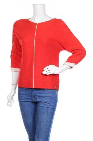 Dámský svetr S.Oliver, Velikost S, Barva Červená, 60% viskóza, 20% polyamide, 20% bavlna, Cena  311,00Kč