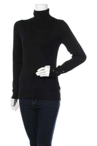 Дамски пуловер Tamaris, Размер M, Цвят Черен, 70% вискоза, 30% полиамид, Цена 44,25лв.
