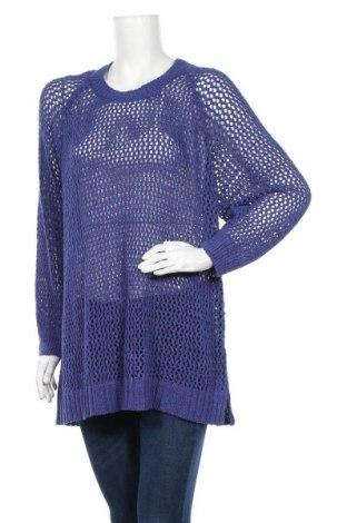 Γυναικείο πουλόβερ Ulla Popken, Μέγεθος XXL, Χρώμα Μπλέ, 76%ακρυλικό, 24% πολυαμίδη, Τιμή 5,23€