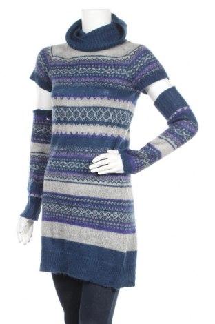Дамски пуловер United Colors Of Benetton, Размер M, Цвят Многоцветен, Цена 21,00лв.