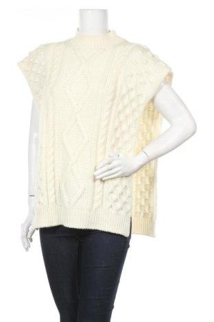 Дамски пуловер Weekend Max Mara, Размер M, Цвят Бял, Вълна, Цена 216,75лв.