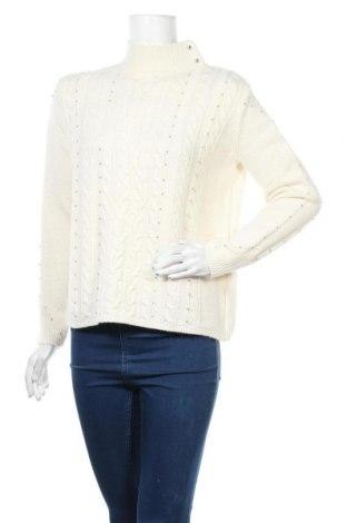 Дамски пуловер Zapa, Размер M, Цвят Екрю, 50% вълна, 50% полиамид, Цена 141,75лв.