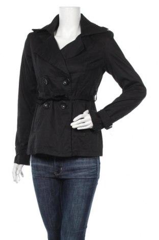 Дамски шлифер, Размер M, Цвят Черен, 97% памук, 3% еластан, Цена 9,98лв.