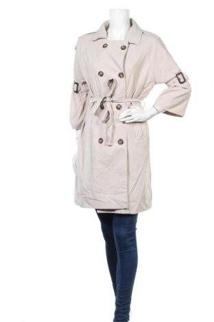 Дамски шлифер, Размер L, Цвят Бежов, Цена 30,87лв.