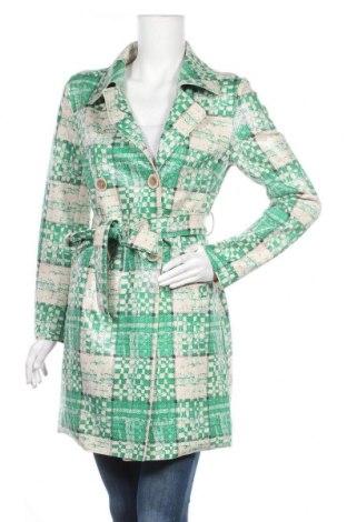 Дамски шлифер, Размер M, Цвят Зелен, Цена 43,47лв.