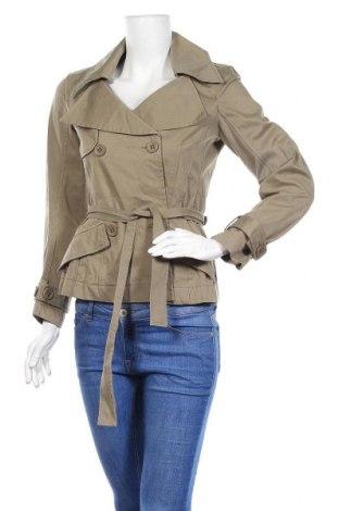 Дамски шлифер Add, Размер S, Цвят Зелен, 44% полиестер, 34% памук, 22% полиуретан, Цена 27,84лв.