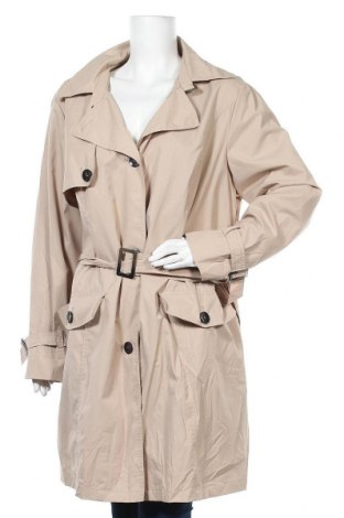 Дамски шлифер Canda, Размер 3XL, Цвят Бежов, 54% памук, 42% полиамид, 4% еластан, Цена 50,40лв.