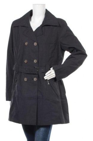 Дамски шлифер Danwear, Размер XL, Цвят Син, 70% памук, 30% полиестер, Цена 66,75лв.