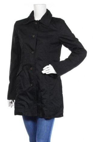 Дамски шлифер Esprit, Размер M, Цвят Черен, Памук, Цена 31,50лв.