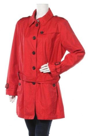Дамски шлифер Fuchs & Schmitt, Размер XL, Цвят Червен, 63% памук, 37% полиамид, Цена 75,60лв.