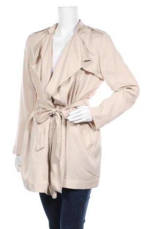 Дамски шлифер H&M, Размер L, Цвят Бежов, Лиосел, Цена 44,10лв.