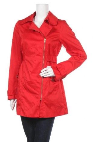 Дамски шлифер H&M, Размер M, Цвят Червен, 65% полиестер, 35% памук, Цена 39,69лв.