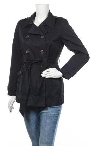 Дамски шлифер Magasin, Размер M, Цвят Син, 57% памук, 43% полиестер, Цена 42,00лв.