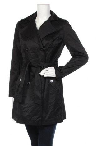 Дамски шлифер Suzanna, Размер S, Цвят Черен, 52% памук, 48% полиестер, Цена 18,65лв.