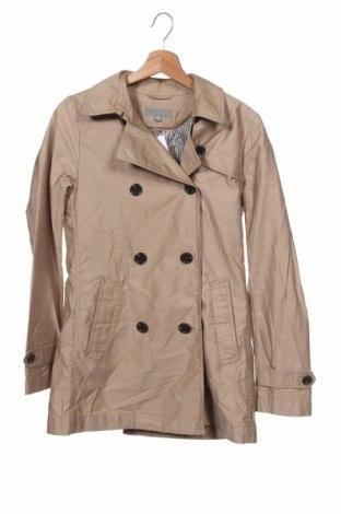 Дамски шлифер Uniqlo, Размер XS, Цвят Бежов, Полиестер, Цена 10,63лв.