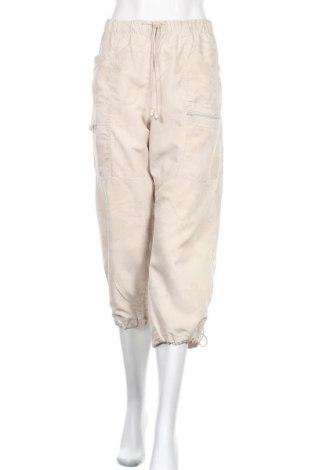 Дамски спортен панталон Marc Lauge, Размер L, Цвят Бежов, Полиестер, Цена 7,09лв.