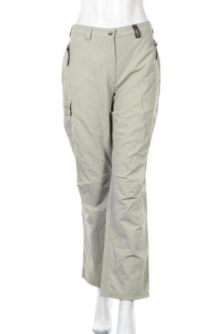 Дамски спортен панталон Scholler, Размер M, Цвят Зелен, 65% полиамид, 30% памук, 5% еластан, Цена 6,30лв.