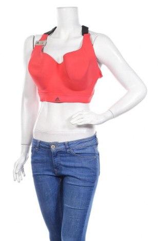 Γυναίκειο αθλητικό τοπ Adidas, Μέγεθος XL, Χρώμα Ρόζ , 71% πολυαμίδη, 29% ελαστάνη, Τιμή 25,61€