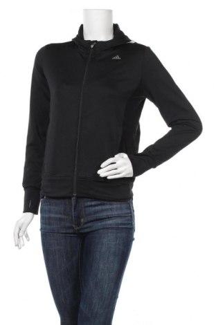 Γυναικείο φούτερ Adidas, Μέγεθος S, Χρώμα Μαύρο, Τιμή 23,45€