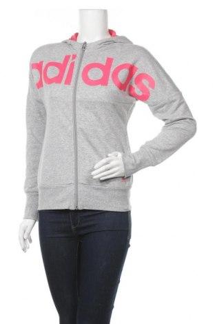 Γυναικείο φούτερ Adidas, Μέγεθος M, Χρώμα Γκρί, Τιμή 27,28€