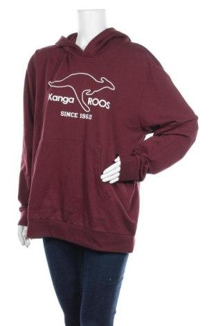 Γυναικείο φούτερ Kangaroos, Μέγεθος L, Χρώμα Κόκκινο, 60% βαμβάκι, 40% πολυεστέρας, Τιμή 22,81€
