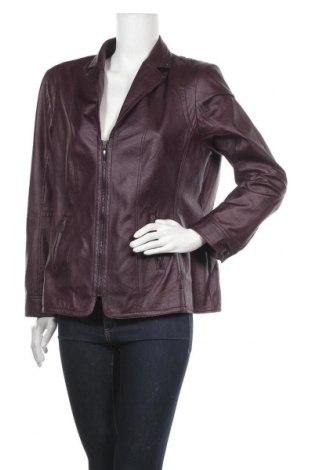 Дамско кожено яке Bexleys, Размер XL, Цвят Лилав, Еко кожа, Цена 44,10лв.