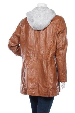 Дамско кожено яке Gipsy, Размер XXL, Цвят Кафяв, Естествена кожа, Цена 224,25лв.