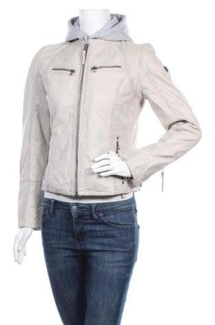 Дамско кожено яке Gipsy, Размер M, Цвят Сив, Естествена кожа, Цена 261,75лв.