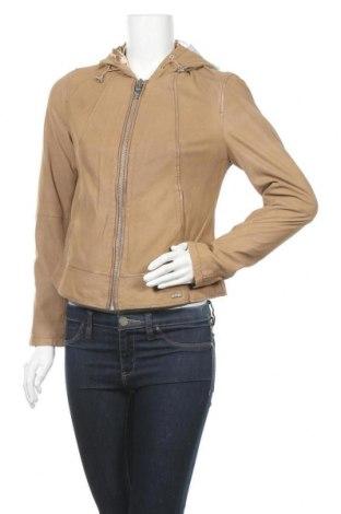 Дамско кожено яке Maze, Размер M, Цвят Кафяв, Естествена кожа, Цена 308,88лв.