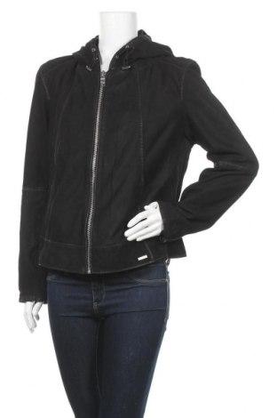 Дамско кожено яке Maze, Размер 3XL, Цвят Черен, Естествена кожа, Цена 308,88лв.