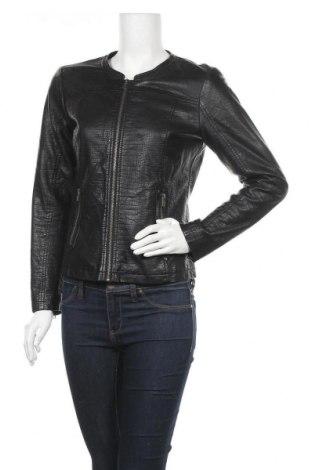 Дамско кожено яке Peppercorn, Размер S, Цвят Черен, Еко кожа, Цена 43,05лв.