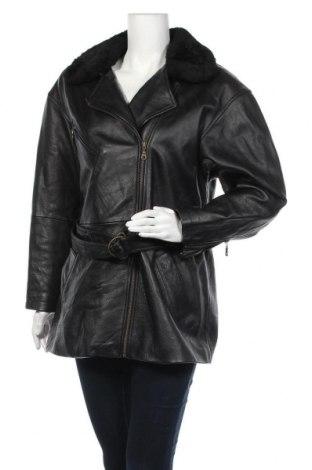 Γυναικείο δερμάτινο μπουφάν Wilsons Leather, Μέγεθος S, Χρώμα Μαύρο, Γνήσιο δέρμα, Τιμή 22,28€