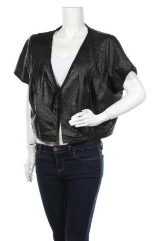 Γυναικείο δερμάτινο μπουφάν Zay, Μέγεθος L, Χρώμα Μαύρο, Δερματίνη, Τιμή 7,73€