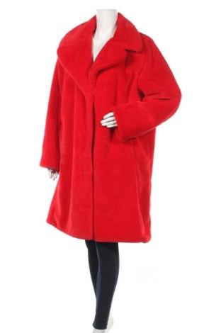 Дамско палто Badgley Mischka, Размер XL, Цвят Червен, Полиестер, Цена 242,00лв.