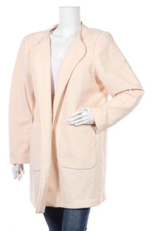 Дамско палто H&M, Размер XL, Цвят Розов, 96% полиестер, 4% еластан, Цена 35,91лв.