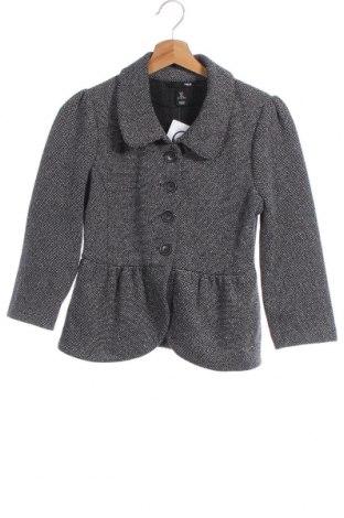 Дамско палто H&M, Размер S, Цвят Сив, 51% памук, 49% полиестер, Цена 35,91лв.