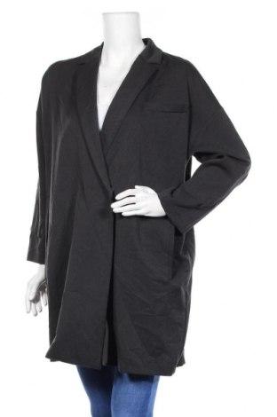 Γυναικείο παλτό OAK + FORT, Μέγεθος M, Χρώμα Μαύρο, Πολυεστέρας, Τιμή 8,41€