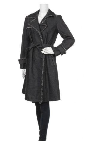 Дамски шлифер Yessica, Размер L, Цвят Син, 65% памук, 32% полиестер, 3% еластан, Цена 34,97лв.