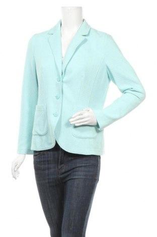Γυναικείο σακάκι G.W., Μέγεθος L, Χρώμα Μπλέ, 72% πολυεστέρας, 25% βαμβάκι, 3% ελαστάνη, Τιμή 10,91€