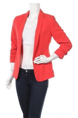 Дамско сако H&M, Размер S, Цвят Червен, 100% полиестер, Цена 45,15лв.