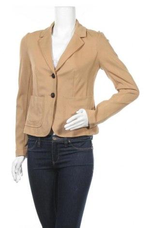 Γυναικείο σακάκι Hallhuber, Μέγεθος M, Χρώμα  Μπέζ, 69% βισκόζη, 25% πολυαμίδη, 6% ελαστάνη, Τιμή 24,85€