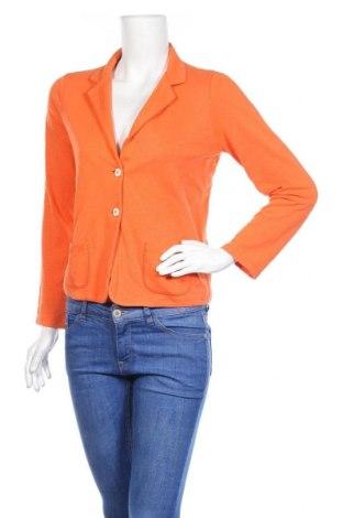 Γυναικείο σακάκι Margittes, Μέγεθος M, Χρώμα Πορτοκαλί, 95% βαμβάκι, 5% ελαστάνη, Τιμή 11,28€