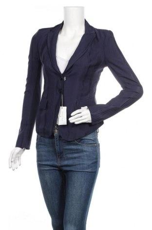 Дамско сако Patrizia Pepe, Размер S, Цвят Син, 70% ацетат, 30% вискоза, Цена 111,75лв.