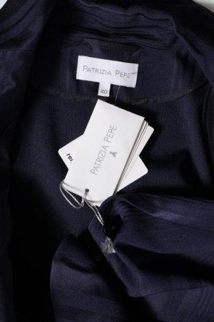Дамско сако Patrizia Pepe, Размер S, Цвят Син, 70% ацетат, 30% вискоза, Цена 41,72лв.