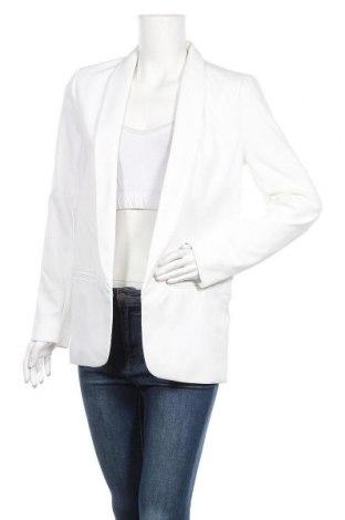 Дамско сако Pimkie, Размер M, Цвят Бял, 96% полиестер, 4% еластан, Цена 44,25лв.